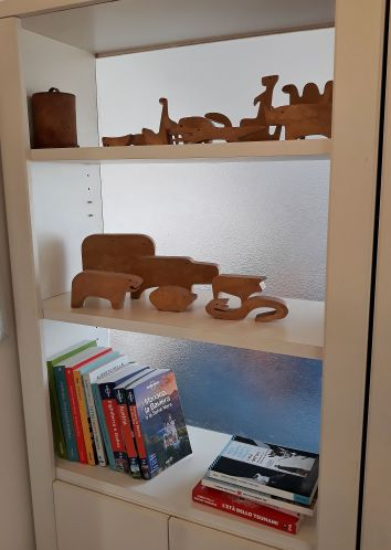 Libreria staged